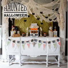 Haunted Halloween Printable Party Collection - Instant Download