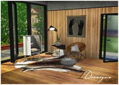 Sims 4 CC's - The Best: Moira Furniture Set by Daer0n