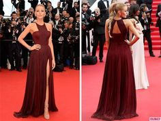 Celebs Rocking Marsala on the Red Carpet