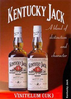 KENTUCKY JACK BOURBON WHISKY Bourbon Whiskey, Whisky, My Old Kentucky Home, Whiskey Bottle, Rum, Drinks, Beverages, Liquor, Barrels