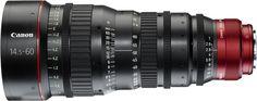 Canon CN-E14.5-60mm T2.6L Zoom Lens