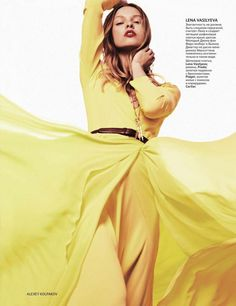 Vogue Russia - Lys, Svetlana, Natta, Vasilisa, Lera, Vladimir and Aram by Alexey Kolpakov