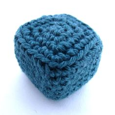 Crocheted cubes and cuboids can be used for Amigurumis, as heads and bodyparts for robots, machines and cubic animals, as ... Read more...