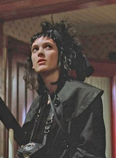 Lydia Deetz (Winona Ryder) in Beetlejuice Sweeney Todd, Movies Showing, Movies And Tv Shows, Lydia Beetlejuice, Winona Ryder Beetlejuice, Tim Burton Personajes, Manado, Gogo Tomago, Winona Forever