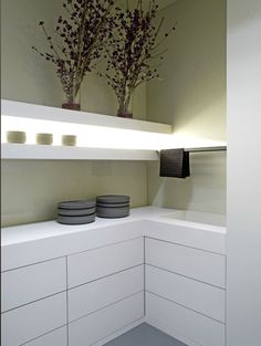 Designer. Lit. Up kitchen. With bright. Led. Lights.   Auto motion. Activated. ,  sleek. Swedish. Design