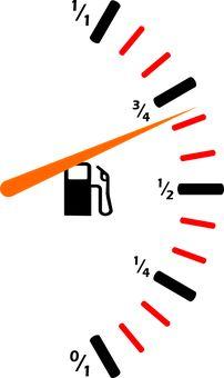 Drivstoff, Bensinmåler