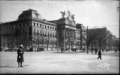 Atocha y el Ministerio de Fomento. 1930