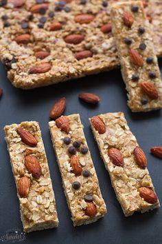 No-Bake 5 Ingredient Granola Bars