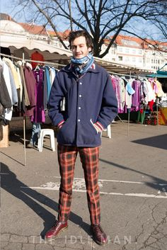 Men's Street Style - Super smart casual combo