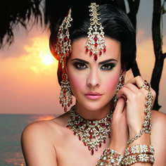 Rawiya Collection - Asian & Indian style Jewellery by Kyles Collection. Handmade Bridal, Evening, Engagement & Fashion Jewellery.