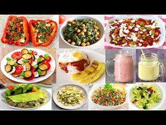 3 cenas fáciles y saludables | Recetas ligeras #Gymvirtualfood - YouTube