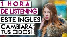 1 hora de practica de listening en inglés americano, un sistema que cambiará tus oídos y los entrenará y afinará para el inglés, con excelente audio para dis...