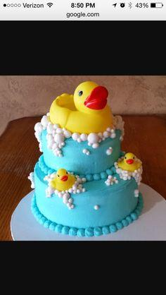 2-Tier Ducky Cake