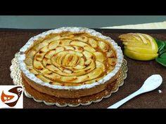Crostata di mele: ricetta buonissima e facile da fare - dolci facili - YouTube