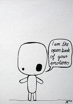 Ann-Kathrin Nikolov: Mister Little - Emotions. Fineliner auf Fotokarton.  #Zeichnung #annkathrinnikolov #misterlittle #startyourart www.startyourart.de