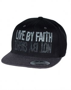 045fefdef58b1 Live By Faith Snapback Hat hats. I want this!! It s so cute!