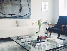 Risultati immagini per emma bernhard Mid-century Interior, Design Show, My Dream Home, Love Seat, Ikea, Mid Century, Couch, Living Room, Modern