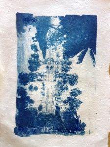 Helen Ikeda - Cianotipia - Oficina de papel artesanal