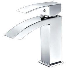 Delta Ara Single Hole Single Handle Bathroom Faucet In Chrome (Grey)