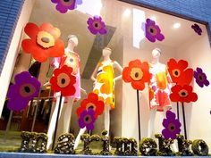 What, you don't know Marimekko?you may not know that you know Marimekko.but this Finish design house has been arou. Marimekko, Shop Window Displays, Display Windows, Illustrations, Visual Merchandising, Flower Prints, Textile Design, Cool Designs, Art Designs