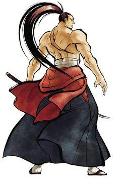 Genjuro Kibagami - Samurai Shodown Sen, Senri Kita