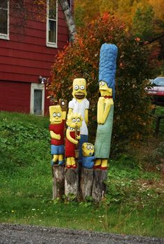 The Simpsons in Westville, Nova Scotia