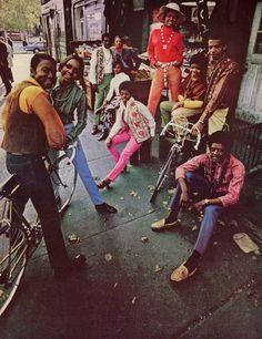 """""""The Oft Forgotten Flower Children of Harlem""""  (1969)"""