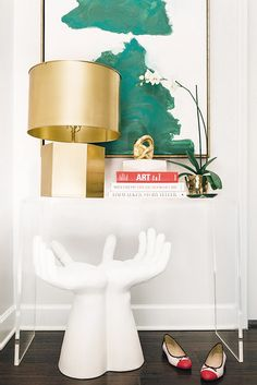Chic Gold Table Lamp