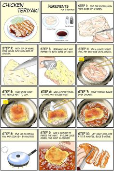 Japanese food manga recipe
