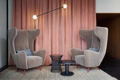Love those chairs! Home Couture by Studiopepe for Spotti Milano | Yellowtrace