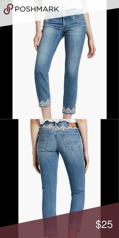 Lucky Brand Joanie Flare Flower Jean 18 months