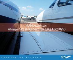 Siempre soñaste con ser #Piloto ? Estudia con nosotros!  experiencia, excelencia académica y los mejores precios del mercado!  info@skyecuador.com ( 0969063172 solo mensajes WhatsApp ) www.skyecuador.com 04 600 8250