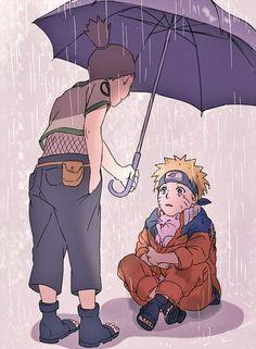 Shikamaru and Naruto. What a good friend. :D