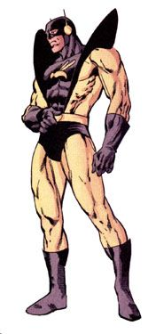 Ant Man -- a.k.a. Giant-Man, Goliath, Yellowjacket, The Wasp