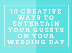 Here are 10 top tips for creating a fantastically fun Wave wedding day! From positively festive Polaroid selfies to a glow stick dance floor, see what The Wave Blog has in store!  #weddingfun #weddingideas