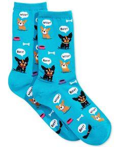 Hot Sox Women's Barking Dog Socks