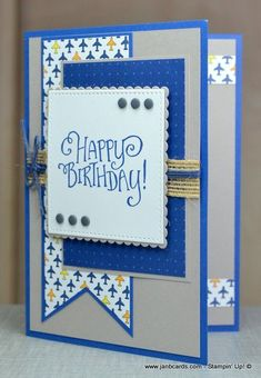 Best Route Masculine Card - JanB Cards You are in the right place about DIY Birthday Cards for friends Here we offer you the most beautiful pictures about the DIY Birthday Cards for g Homemade Birthday Cards, Birthday Cards For Boys, Masculine Birthday Cards, Bday Cards, Masculine Cards, Homemade Cards For Men, Male Birthday, 21st Birthday, Cricut Birthday Cards