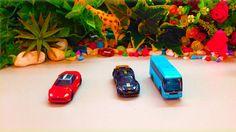 Super Hino S'Elega - Tomica Toy Car - Lotus Exige R-Gt