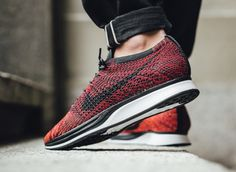 new arrival 51bac ab73c Nike Flyknit Racer University Red  sneakers  sneakernews  StreetStyle  Kicks   adidas