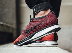 new arrival 5737c e8902 Nike Flyknit Racer University Red  sneakers  sneakernews  StreetStyle  Kicks   adidas