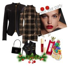 """""""Untitled #250"""" by fearymelek on Polyvore featuring Tom Ford, Balmain, Dolce&Gabbana and Bulgari"""