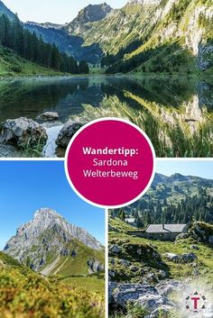 Wanderung entlang dem Sardona Welterbeweg im Glarnerland Hiking Routes, World Traveler, Beautiful Landscapes, Switzerland, To Go, Wanderlust, Mountains, Places, Nature