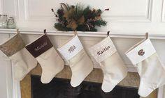 Personalized Christmas Stockings Large Christmas Stockings