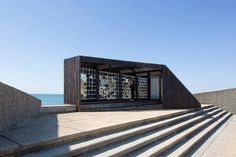 Breath Box by NAS architecture - http://architectism.com/breath-box-nas-architecture/ - Breath Box, Breath Box La Grande Motte, Breath Box NAS architecture, NAS architecture
