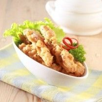 FRIED CHICKEN WITH CHEESE SAUCE http://www.sajiansedap.com/mobile/detail/17842/fried-chicken-with-cheese-sauce