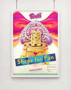 Trolli - Shape for fun by Tom Jueris, via Behance