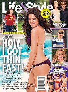 Khloe Kardashian Reveals How She Got Thin So Fast (Photo)