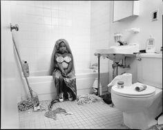 Mary Ellen Mark, Diamond Settles, 'Halloween Mermaid, South Bronx H.E.L.P. Shelter, New York, USA, 1993