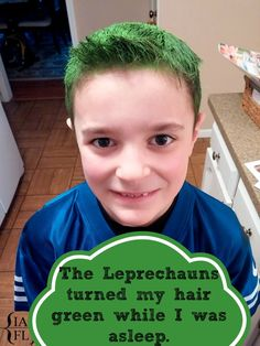 Leprechaun Tricks - Our St. Patrick's Day version of Elf on the Shelf :)