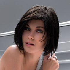 Gloss Pure Power! Ladies Human Hair Wig by Ellen Wille in Espresso Mix | Monofilament Wig | Valentine Wigs